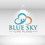 Blue Sky Life Plans Logo - Entry #193