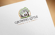 Growing Little Minds Early Learning Center or Growing Little Minds Logo - Entry #27