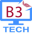 B3 Tech Logo - Entry #36