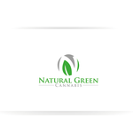 Natural Green Cannabis Logo - Entry #42