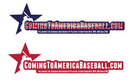 ComingToAmericaBaseball.com Logo - Entry #12