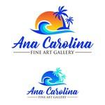 Ana Carolina Fine Art Gallery Logo - Entry #199