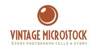 Vintage Microstock Logo - Entry #2
