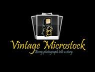 Vintage Microstock Logo - Entry #111