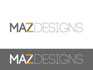 Maz Designs Logo - Entry #297