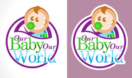 Logo for our Baby product store - Our Baby Our World - Entry #71