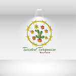 Twisted Turquoise Boutique Logo - Entry #161