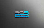 Elite Construction Services or ECS Logo - Entry #301