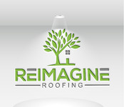 Reimagine Roofing Logo - Entry #144