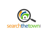 search the town .com     or     djsheil.com Logo - Entry #102