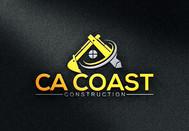 CA Coast Construction Logo - Entry #14