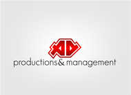 Corporate Logo Design 'AD Productions & Management' - Entry #32