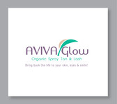 AVIVA Glow - Organic Spray Tan & Lash Logo - Entry #20