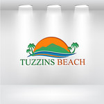 Tuzzins Beach Logo - Entry #44