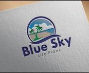 Blue Sky Life Plans Logo - Entry #209