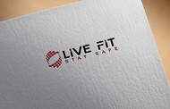 Live Fit Stay Safe Logo - Entry #253