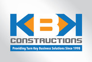 KBK constructions Logo - Entry #48