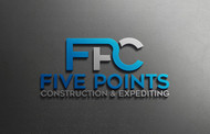 Five Points Construction & Expediting Logo - Entry #10