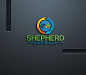 Shepherd Drywall Logo - Entry #163