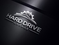 Hard drive garage Logo - Entry #108