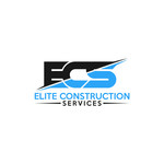 Elite Construction Services or ECS Logo - Entry #343