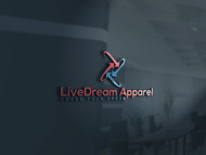 LiveDream Apparel Logo - Entry #340