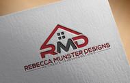 Rebecca Munster Designs (RMD) Logo - Entry #136