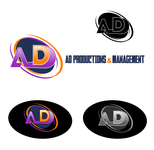 Corporate Logo Design 'AD Productions & Management' - Entry #124
