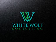 White Wolf Consulting (optional LLC) Logo - Entry #260
