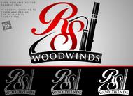 Woodwind repair business logo: R S Woodwinds, llc - Entry #113