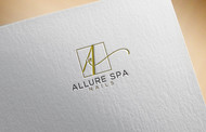 Allure Spa Nails Logo - Entry #94