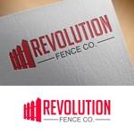 Revolution Fence Co. Logo - Entry #394