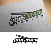 Big Man Towing Logo - Entry #147