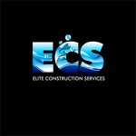 Elite Construction Services or ECS Logo - Entry #262