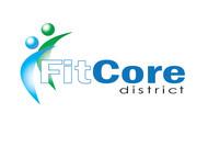 FitCore District Logo - Entry #39