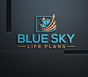 Blue Sky Life Plans Logo - Entry #127