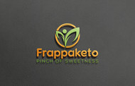 Frappaketo or frappaKeto or frappaketo uppercase or lowercase variations Logo - Entry #45
