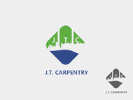 J.T. Carpentry Logo - Entry #6