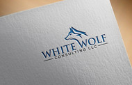 White Wolf Consulting (optional LLC) Logo - Entry #545