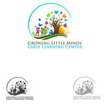 Growing Little Minds Early Learning Center or Growing Little Minds Logo - Entry #48