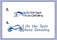 On the Spot Auto Detailing Logo - Entry #54