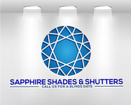 Sapphire Shades and Shutters Logo - Entry #93