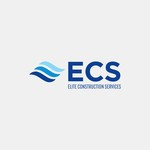 Elite Construction Services or ECS Logo - Entry #183
