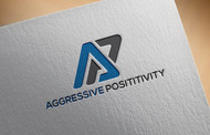 Aggressive Positivity  Logo - Entry #61