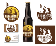 Breakneck Lager Logo - Entry #91
