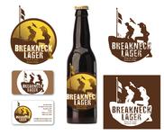 Breakneck Lager Logo - Entry #91