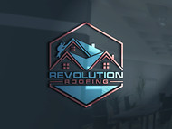 Revolution Roofing Logo - Entry #85