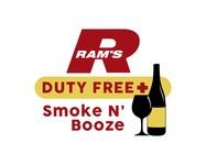 Rams Duty Free + Smoke & Booze Logo - Entry #259