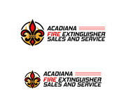 Acadiana Fire Extinguisher Sales and Service Logo - Entry #179