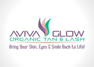 AVIVA Glow - Organic Spray Tan & Lash Logo - Entry #100